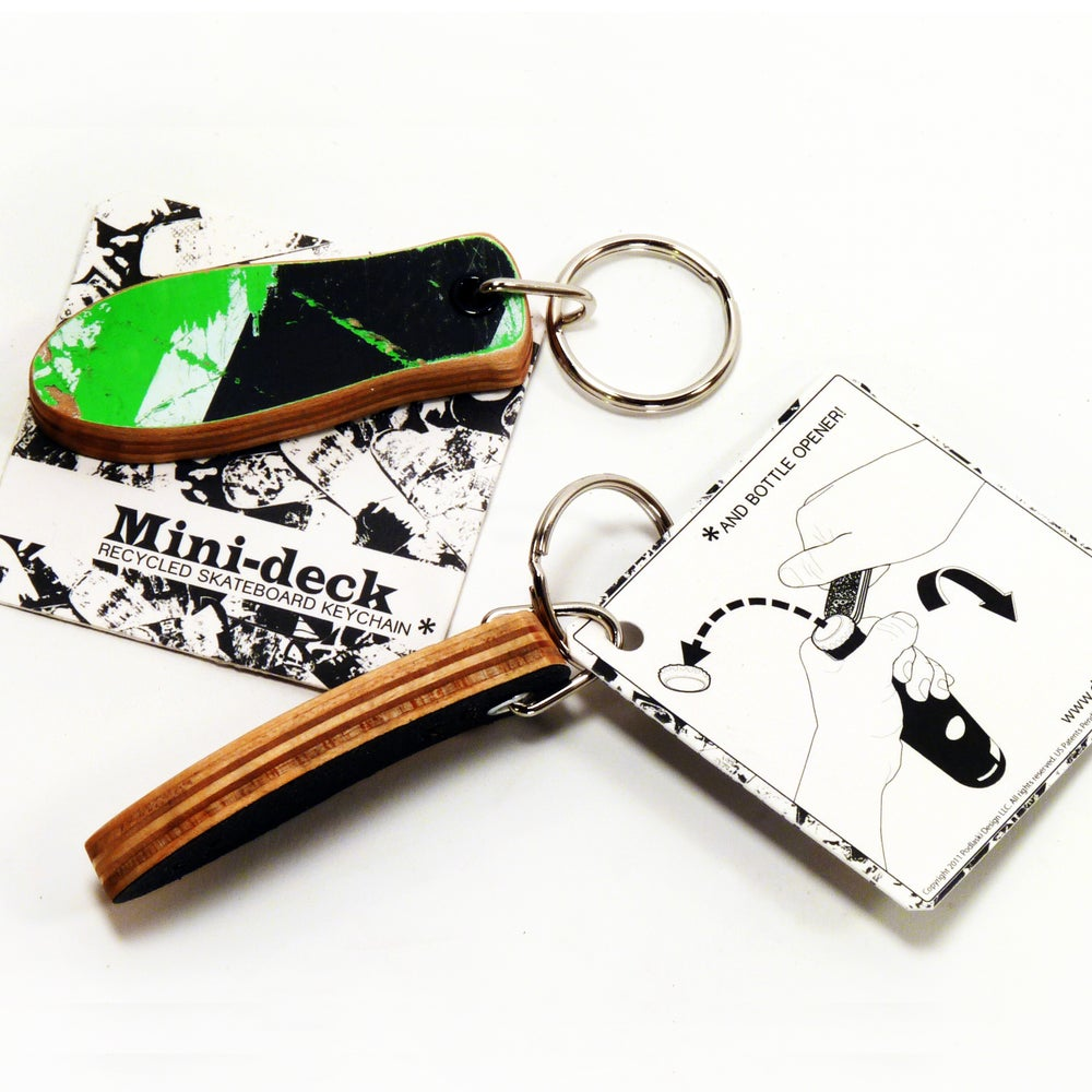 Image of MiniDeck  - Skateboard Keychain and Bottle Opener (Large Size Keychain)