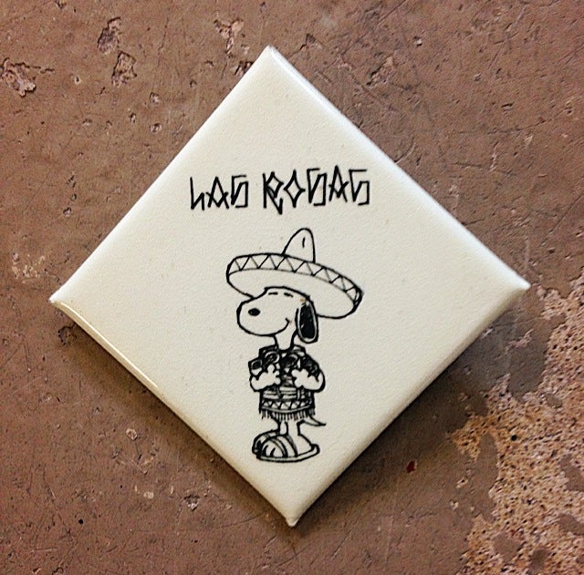 "Image of Diamond Snoopy Pin (1.5"")"
