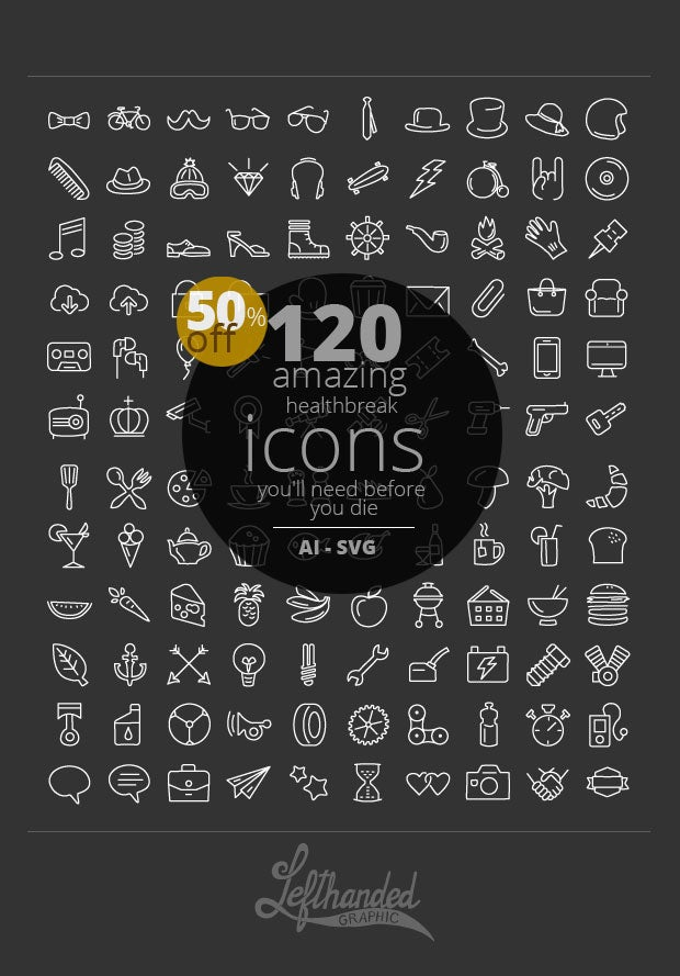 Image of Healthbrake icons pack