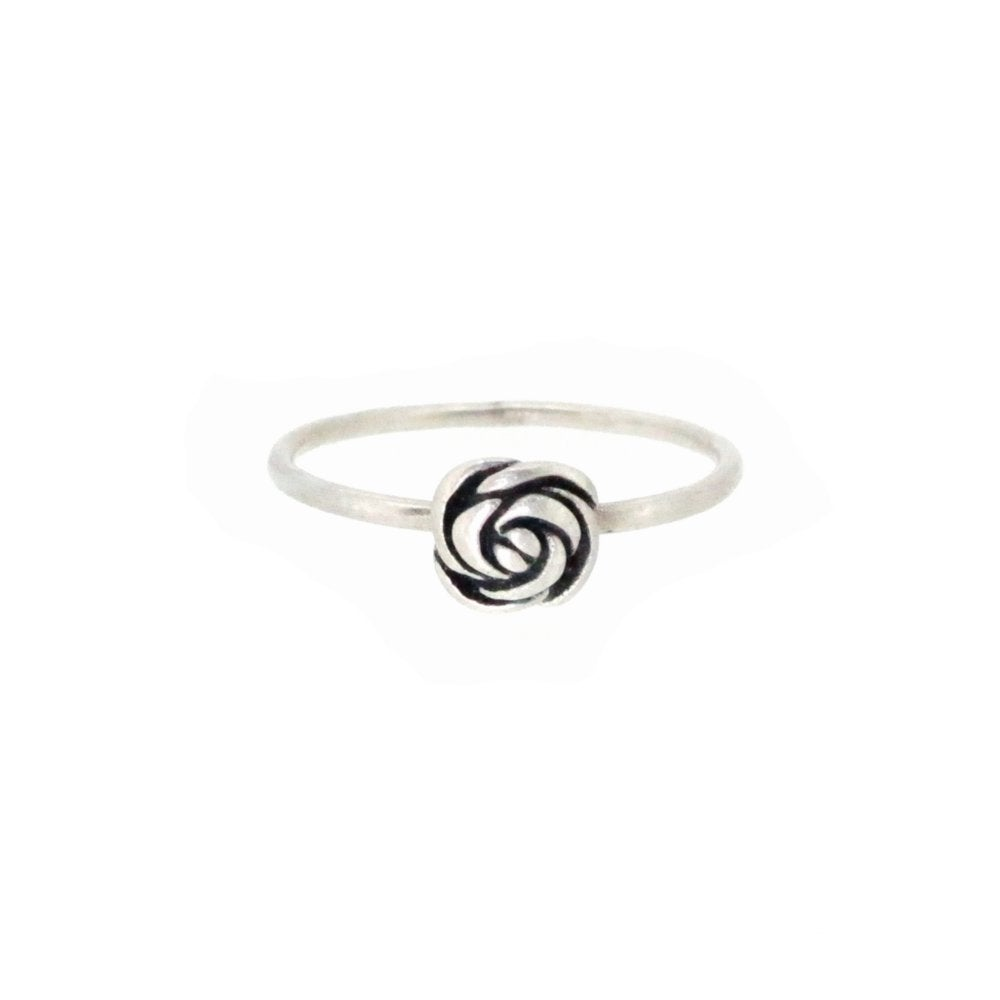 Image of Springtime Wildflower Rose bud stacking ring