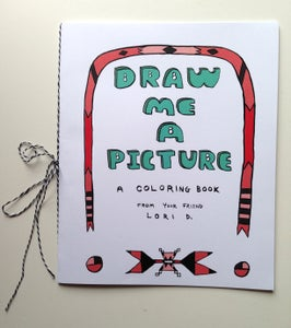 Image of Draw Me A Picture coloring book