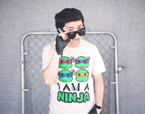 "Image of ""I Am A Ninja Turtle"" Tee"