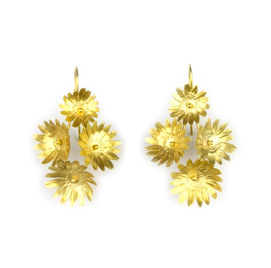 Image of Fiori Earrings-4-Vermeil