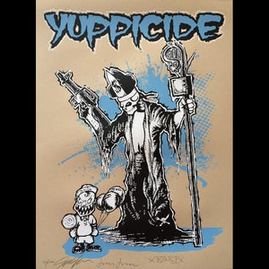 "Image of Yuppicide Art Show Poster 18"" x 24"""