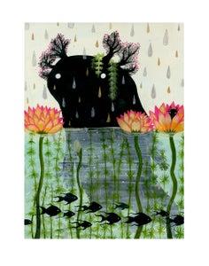 Image of Axolotl - 11 x 14 inch Archival Inkjet (Giclée) Print