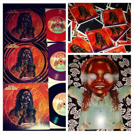 Image of Black Devil Doll From Hell - Soundtrack 7""