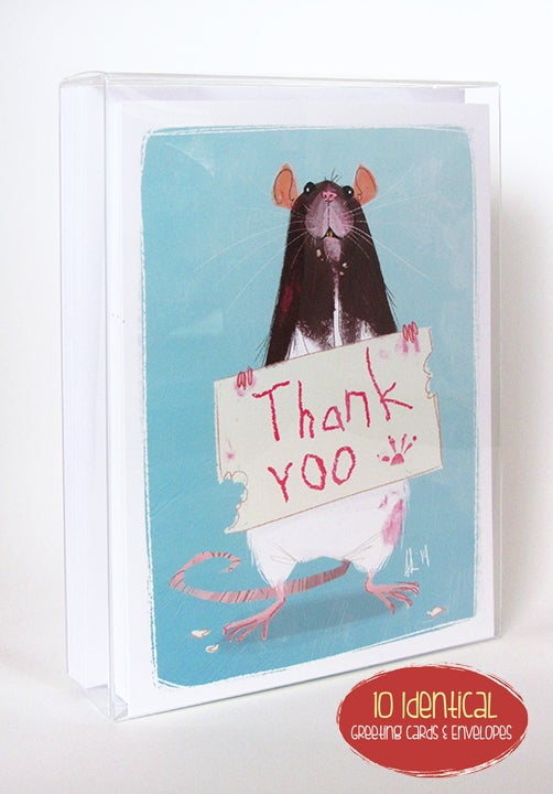 Image of Greeting Card 10-Pack. You Pick the Design!