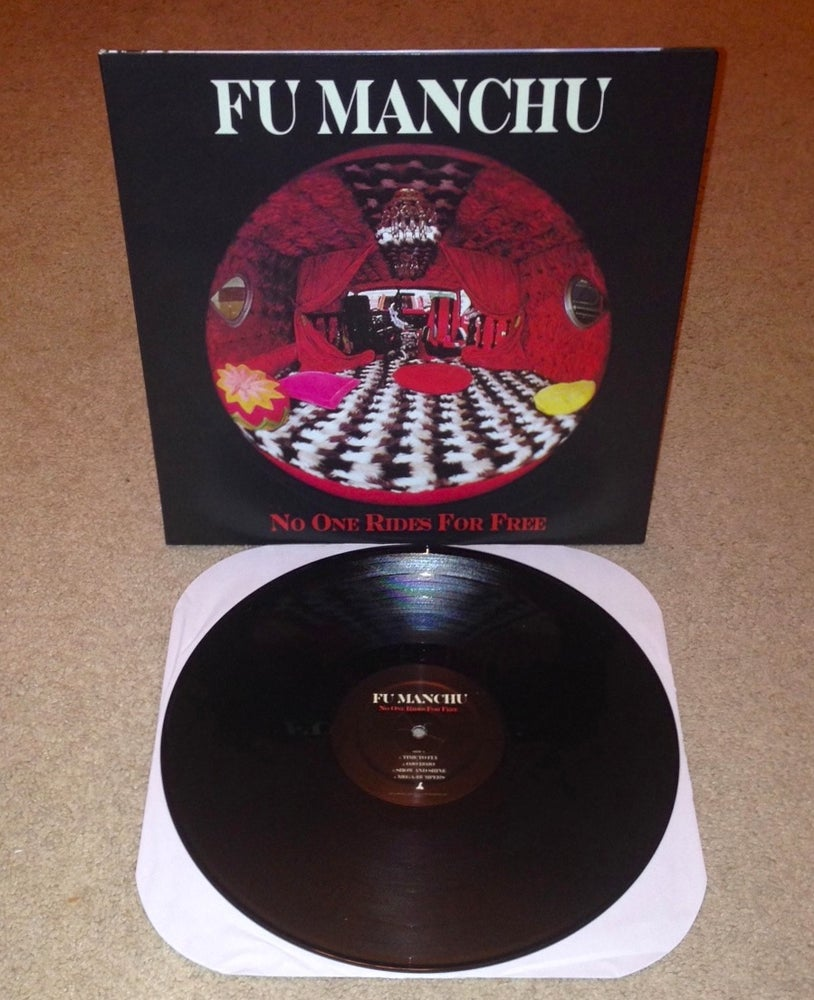 "Image of FU MANCHU ""No One Rides For Free"" LP (Black Vinyl)"