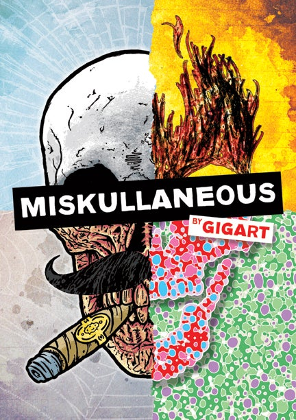 Image of Miskullaneous - A Book of Skull Art by GIGART