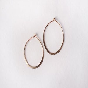 Image of Sml Solid Gold Hoop