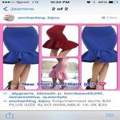 Image of Short Mermaid Skirt