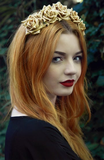 Image of Wild Rose Crown Caramel