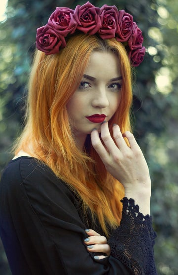 Image of Blooming Rose Crown Ruby