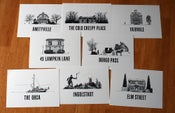 Image of Haunted House Card Set