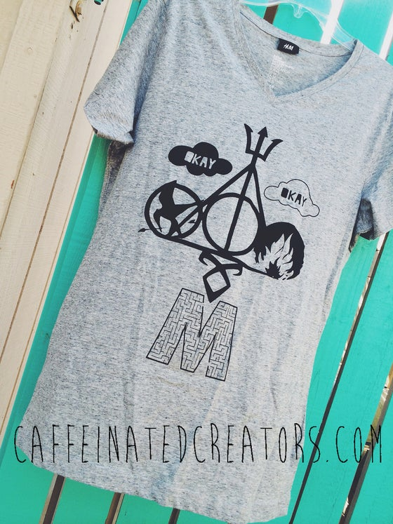 Image of Multi-Fandom Booknerd Tee