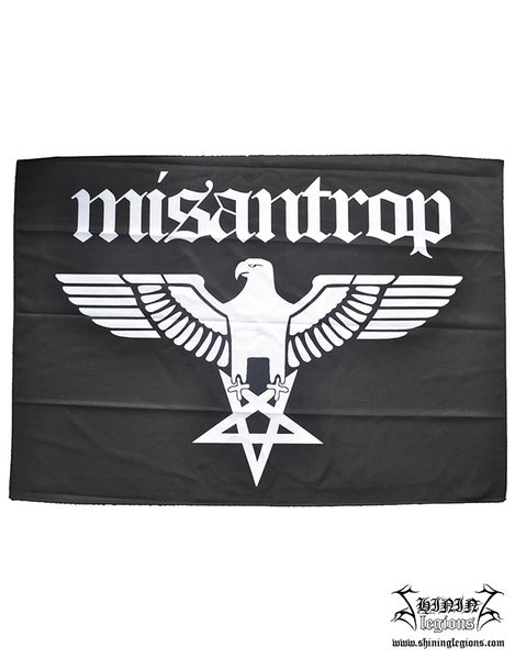 "Image of Shining ""Misantrop"" poster flag"