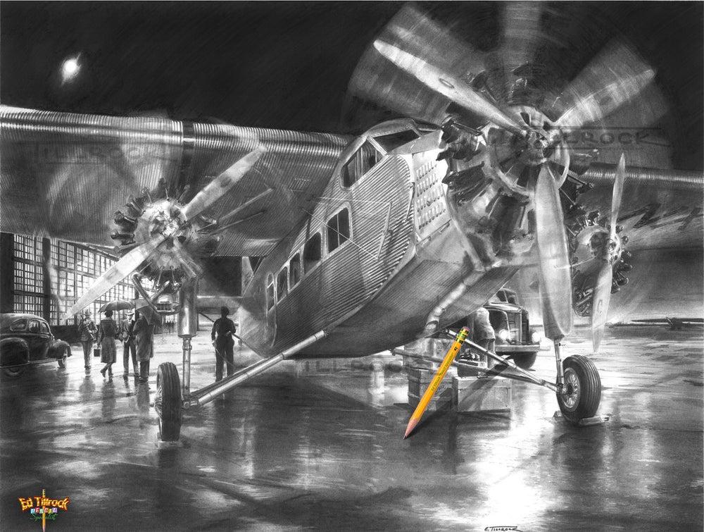 "Image of ""Tri-Motor"" 11x17 Print"