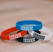 Image of Anavae - 'Logo' Wristband (Pack of 4)