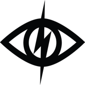 """Image of THIRD EYE REFLECTIVE VINYL DECAL (3.25"""" WIDE )"""