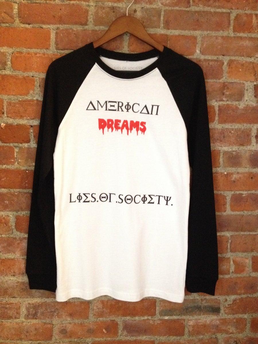 """Image of LOS """"American Dreams"""" Raglan"""