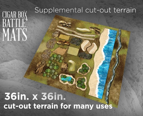 Image of Supplemental Terrain -- 3x3 -- #130