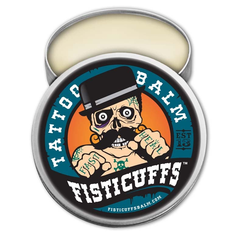 Fisticuffs tattoo balm fisticuffs llc grave before shave for Shave before tattoo