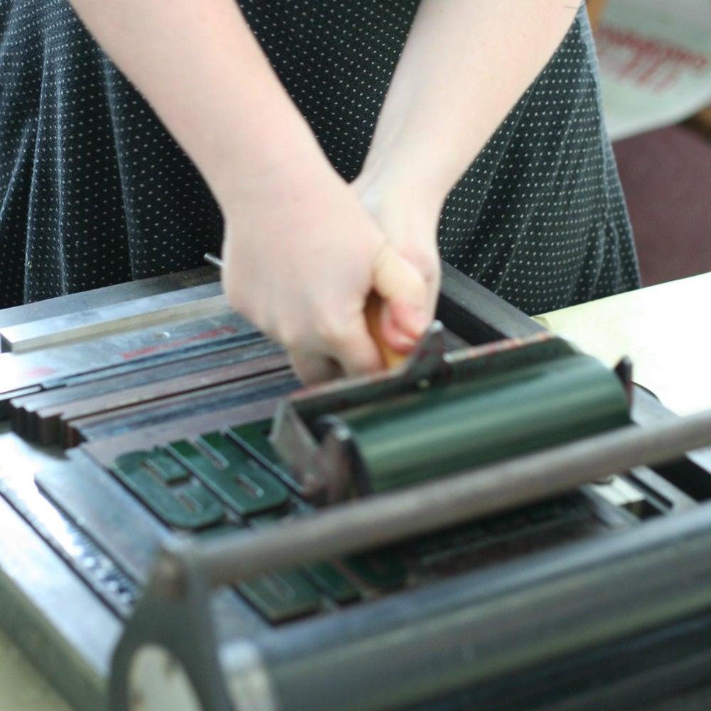 Image of Letterpress Workshop