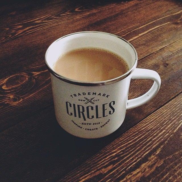 Image of Order The Circles 2014 Enamel Mug