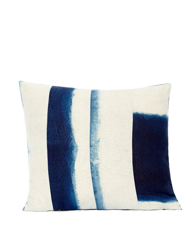 Image of INDIGO DIVIDED III PILLOW