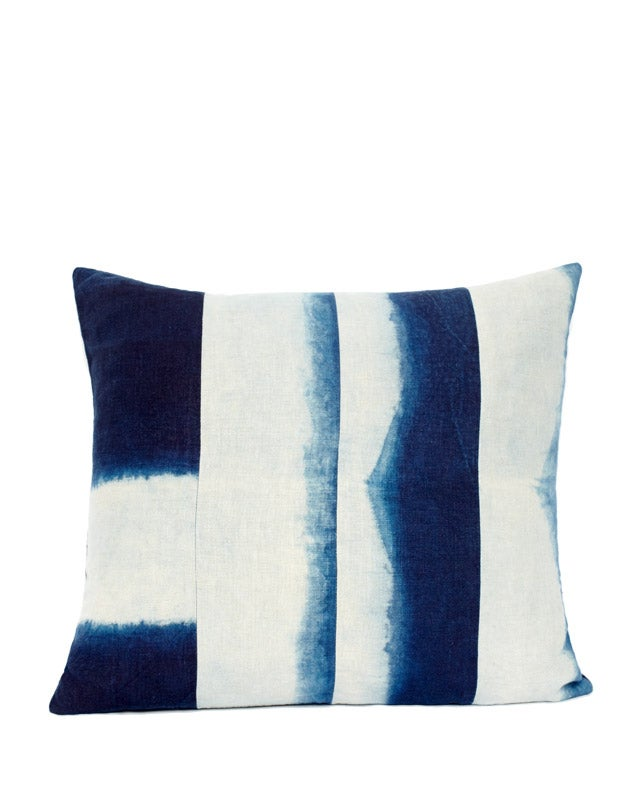 Image of INDIGO DIVIDED IV PILLOW