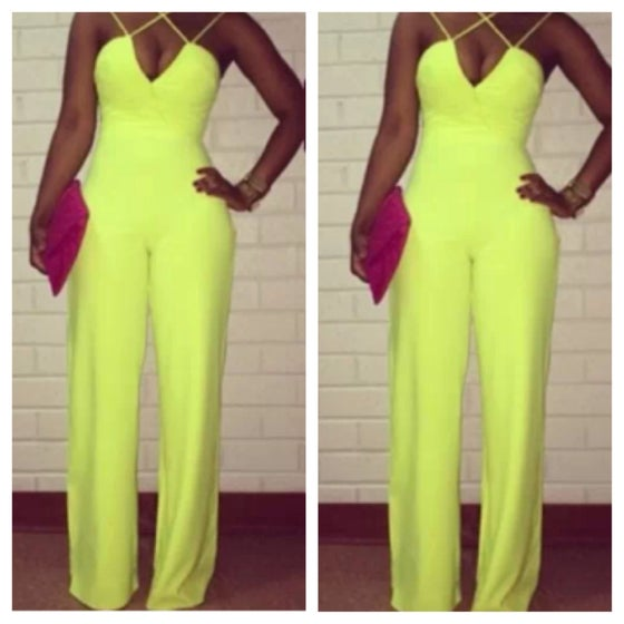 Image of Lime jumpsuit