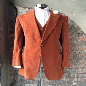 Image of 3 Piece Corduroy Suit
