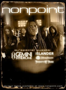 Image of TICKETS - NONPOINT @THE OTTOBAR NOV 3rd