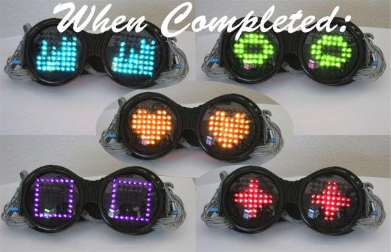 Image of LED Goggles - DIY Kit
