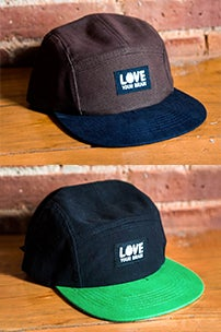 Image of LoveYourBrain 5 Panel Hat