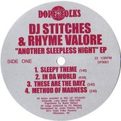 """Image of DJ STITCHES & RHYME VALORE """"ANOTHER SLEEPLESS NIGHT"""" EP"""