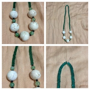Image of Real Howlite and Jade