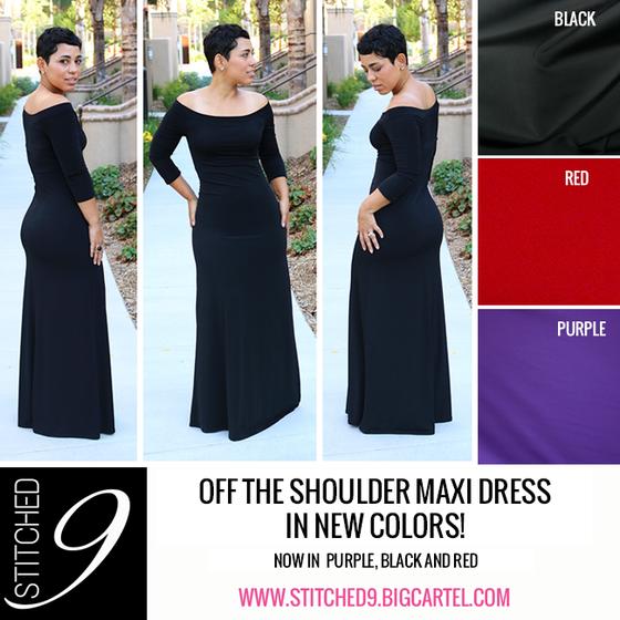 Image of Off The Shoulder Dress
