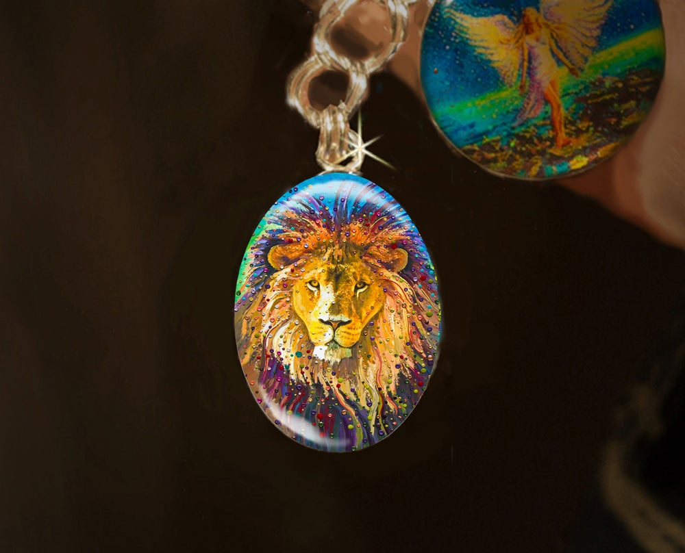 Image of Lion Heart Energy Charm