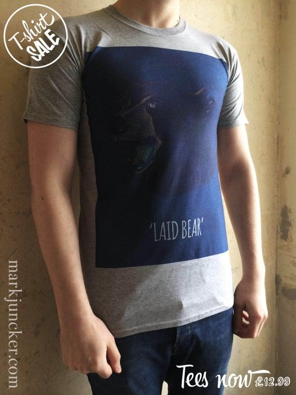 "Image of ""LAID BEAR TEE"""