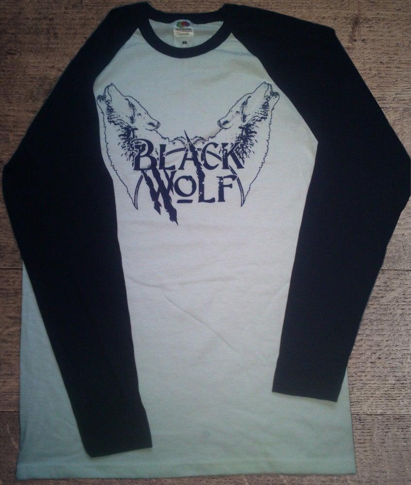 Image of Baseball Jersey: Howling Wolves Logo