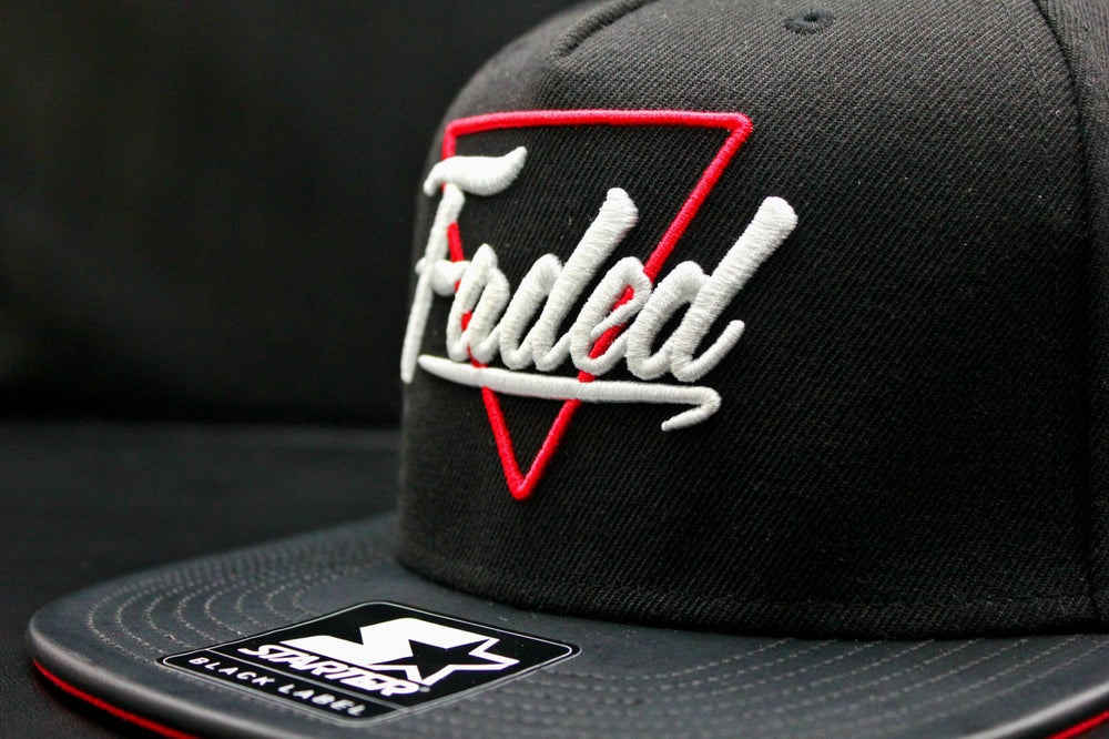 Image of Faded x Starter Black Label Snapback