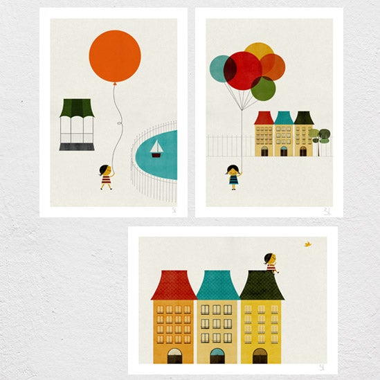 Image of In the... Set of three Prints