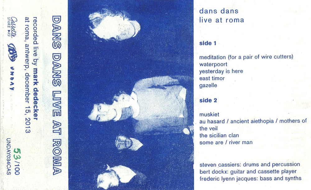 Image of Dans Dans - Live At Roma (CAS)