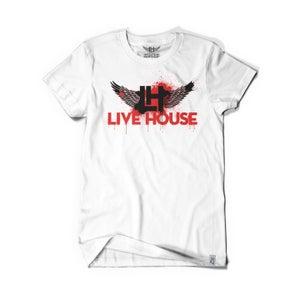 Image of Splash Classic Wings (White/Black/Red)
