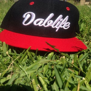 Image of New dablife SnapBack Black /red