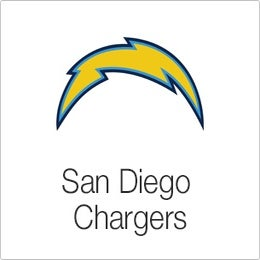 Image of Velvet Sky San Diego Chargers Fantasy Football