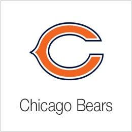 Image of Velvet Sky Chicago Bears Fantasy Football