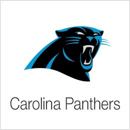 Image of Velvet Sky Carolina Panthers Fantasy Football