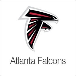 Image of Velvet Sky Atlanta Falcons Fantasy Football